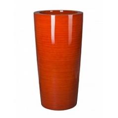 Кашпо Nieuwkoop Krappa partner bamboo orange-red