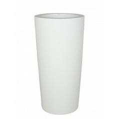 Кашпо Nieuwkoop Krappa partner shiny white, белого цвета