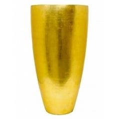 Кашпо Nieuwkoop Senza partner champagne gold, под цвет золота