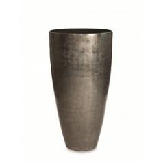 Кашпо Nieuwkoop Senza partner platinum (под цвет серебраleaf)