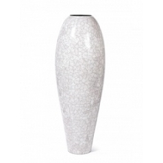 Кашпо Nieuwkoop Sphinx eggshell white, белого цвета