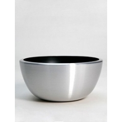 Кашпо Nieuwkoop Aluminium bowl aluminium brushed