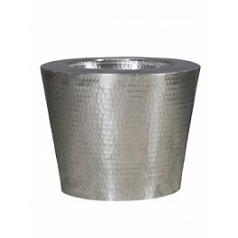 Кашпо Nieuwkoop Hammered aluminium elegant (inclelegant (incl innerplanter)