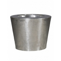 Кашпо Nieuwkoop Hammered aluminium elegant