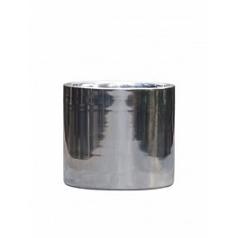 Кашпо Nieuwkoop Polished aluminium cylinder