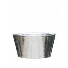 Кашпо Nieuwkoop Polished aluminium tub