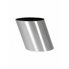 Кашпо Nieuwkoop Parel pisa aluminium brushed