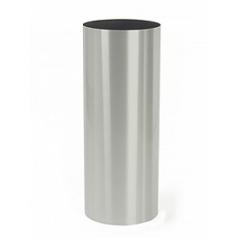 Кашпо Nieuwkoop Parel column stainless steel brushed (h)