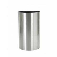 Кашпо Nieuwkoop Parel column stainless steel brushed (wheels impossible)