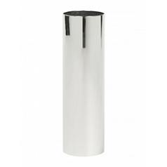 Кашпо Nieuwkoop Parel column stainless steel polished