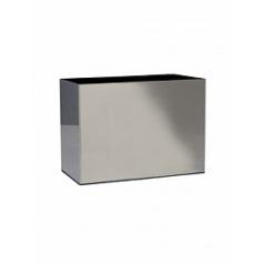 Кашпо Nieuwkoop Parel stainless steel brushed (h)