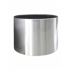 Кашпо Nieuwkoop President aluminium brushed