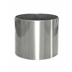 Кашпо Nieuwkoop President stainless steel brushed