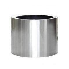 Кашпо Nieuwkoop President topper aluminium brushed