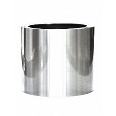 Кашпо Nieuwkoop President topper aluminium polished