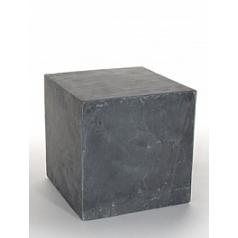 Пьедестал Nieuwkoop Etna pillar imperial black, чёрного цвета slate blocks