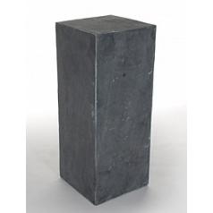 Пьедестал Nieuwkoop Rock pillar imperial black, чёрного цвета slate blocks