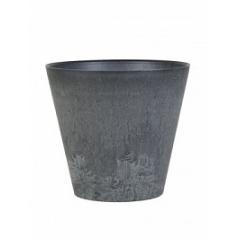 Кашпо Artstone claire pot black, чёрного цвета Диаметр — 43 см