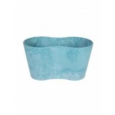 Кашпо Artstone claire pot duo aqua Длина — 26 см