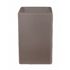 Светящееся Кашпо Bloom! Holland square dark grey, серого цвета (taupe, тёмно-серый) Длина — 50 см