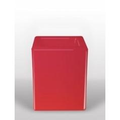 Светящееся Кашпо Bloom! Holland square red, красного цвета Длина — 40 см