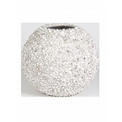 Кашпо Fleur Ami Beach planter shell white, белого цвета  Диаметр — 40 см