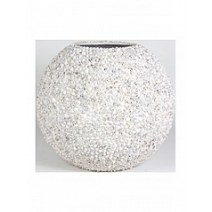 Кашпо Fleur Ami Beach planter shell white, белого цвета  Диаметр — 60 см