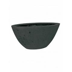 Кашпо Fleur Ami Boat anthracite, цвет антрацит Длина — 36 см Диаметр — 72 см