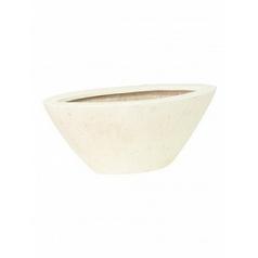 Кашпо Fleur Ami Boat cream, кремового цвета Длина — 20 см Диаметр — 35 см
