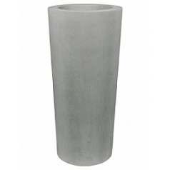 Кашпо Fleur Ami Conical planter grey, серого цвета  Диаметр — 43 см