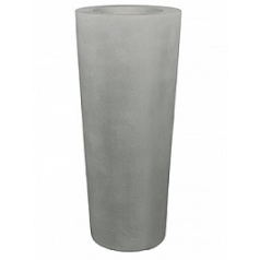 Кашпо Fleur Ami Conical planter grey, серого цвета  Диаметр — 46 см