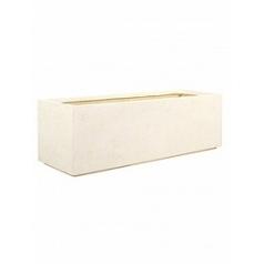 Кашпо Fleur Ami Divide cream, кремового цвета Длина — 100 см