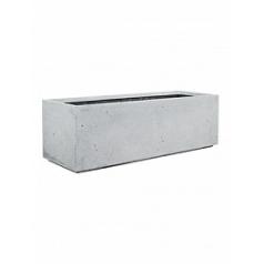 Кашпо Fleur Ami Divide grey, серого цвета Длина — 100 см