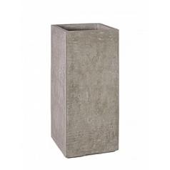 Кашпо Fleur Ami Division planter natural-фактура под бетон Длина — 35 см