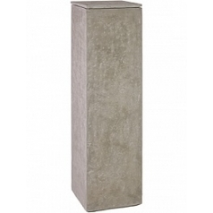 Кашпо Fleur Ami Division planting column natural-фактура под бетон Длина — 35 см