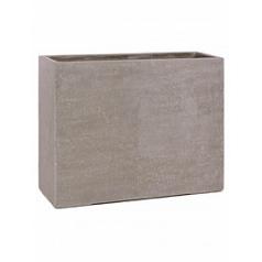 Кашпо Fleur Ami Division plus devider natural-фактура под бетон Длина — 100 см