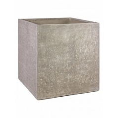 Кашпо Fleur Ami Division plus planter natural-фактура под бетон Длина — 40 см