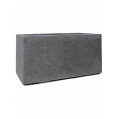 Кашпо Fleur Ami Division plus rectangle anthracite, цвет антрацит Длина — 100 см