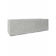Кашпо Fleur Ami Division plus rectangle natural-фактура под бетон Длина — 140 см