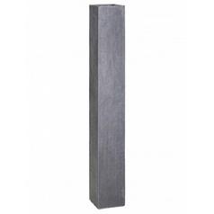 Кашпо Fleur Ami Division plus stele anthracite, цвет антрацит Длина — 23 см