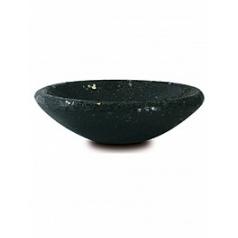 Кашпо Fleur Ami One bowl black, чёрного цвета  Диаметр — 35 см