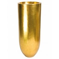 Кашпо Fleur Ami Pandora gold, под цвет золота leaf  Диаметр — 50 см