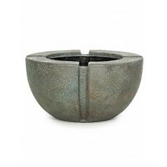 Кашпо Fleur Ami Patina verdrigris-bronze, бронзового цвета  Диаметр — 70 см
