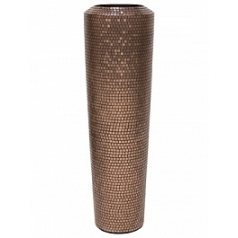 Кашпо Fleur Ami Pixel planter copper  Диаметр — 40 см