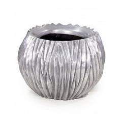 Кашпо Fleur Ami River aluminium  Диаметр — 45 см