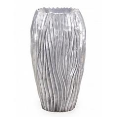 Кашпо Fleur Ami River aluminium  Диаметр — 38 см