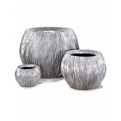 Кашпо Fleur Ami River aluminium  Диаметр — 120 см