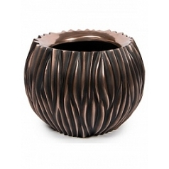 Кашпо Fleur Ami River ancient bronze, бронзового цвета  Диаметр — 45 см