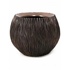 Кашпо Fleur Ami River ancient bronze, бронзового цвета  Диаметр — 120 см