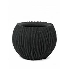 Кашпо Fleur Ami River black, чёрного цвета  Диаметр — 45 см